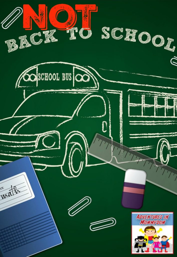 Not back to school ideas for your homeschool