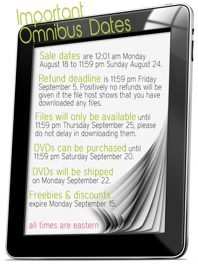 Omnibus-Important-Dates