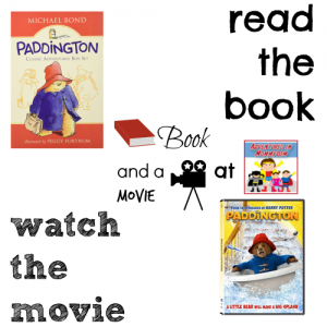 Paddington book and a movie (1)