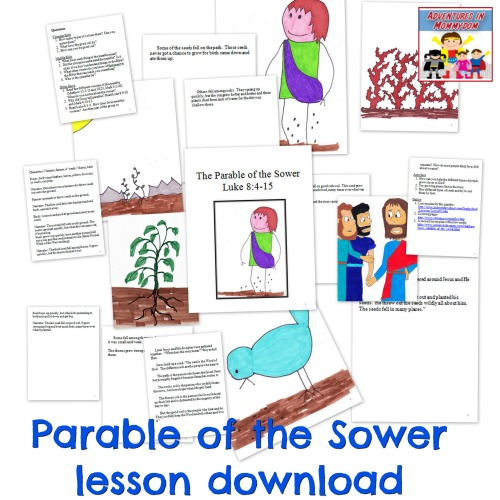 Parable of the Sower lesson download