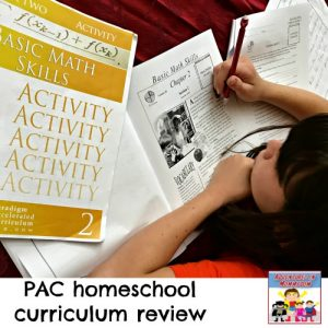 Paradigm Accelerated Curriculum Homeschool Curriculum review