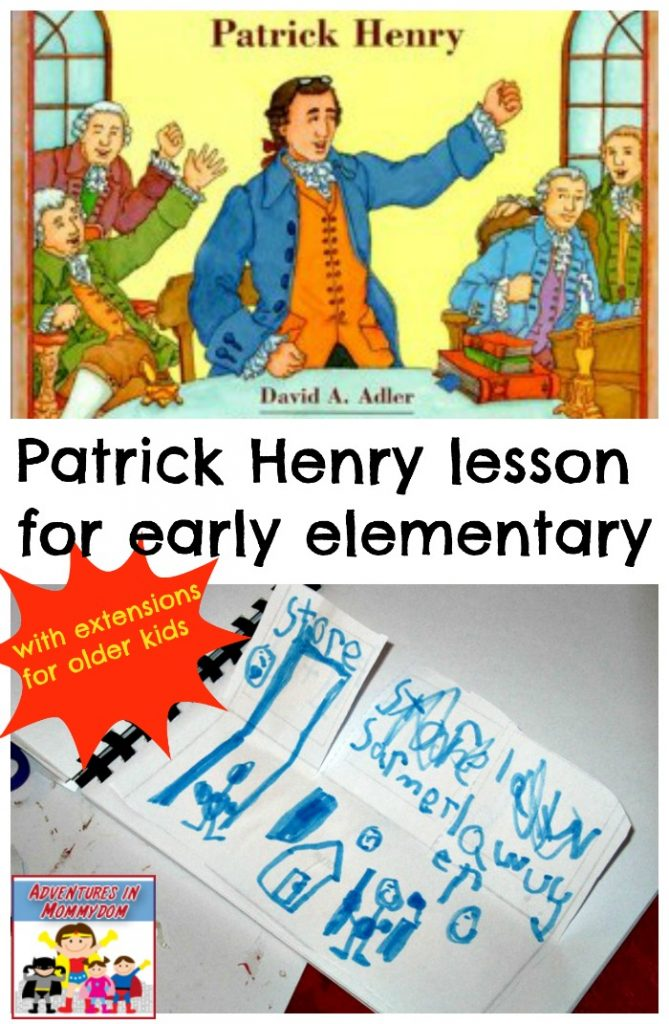 Patrick Henry lesson for early elementary