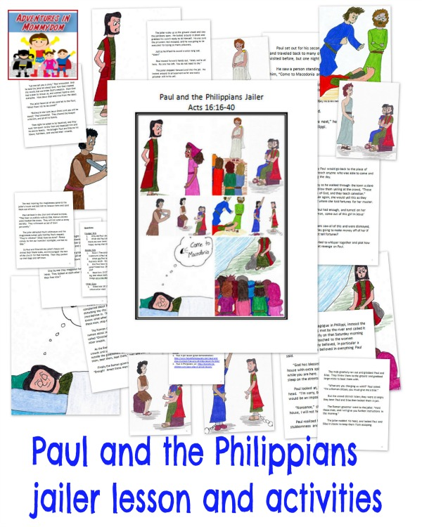 Paul and the Philippians jailer lesson
