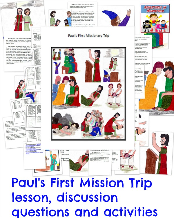 an discussion of pauls missionary trips I hope these resources will be useful as you're teaching paul's missionary journeys to kids fabulous information of the study and travels of paul.