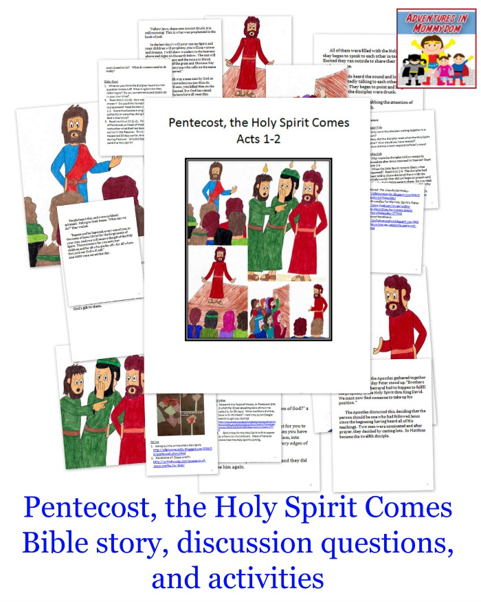 Pentecost Sunday School lesson