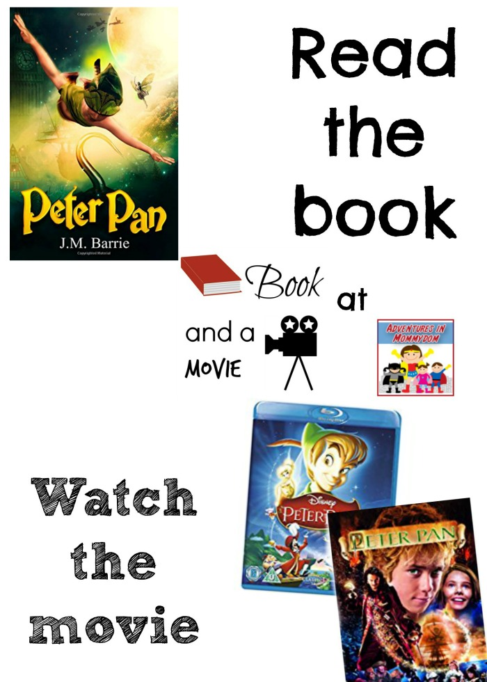 Peter Pan book and a movie