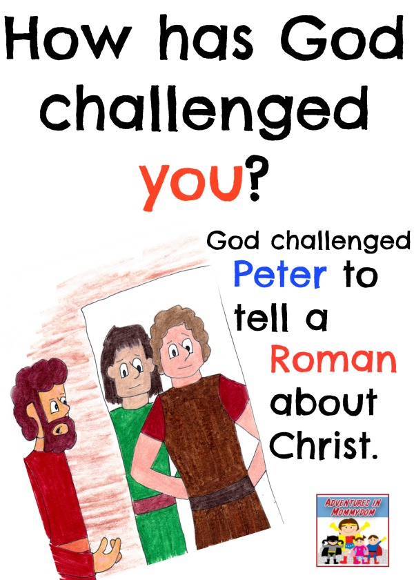 Peter and Cornelius challenge