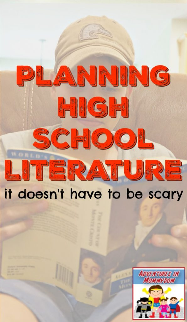 Planning high school literature it doesn't have to be scary