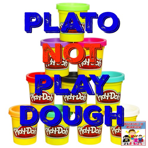 Plato not play dough