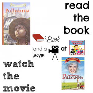 Pollyanna book and a movie feature