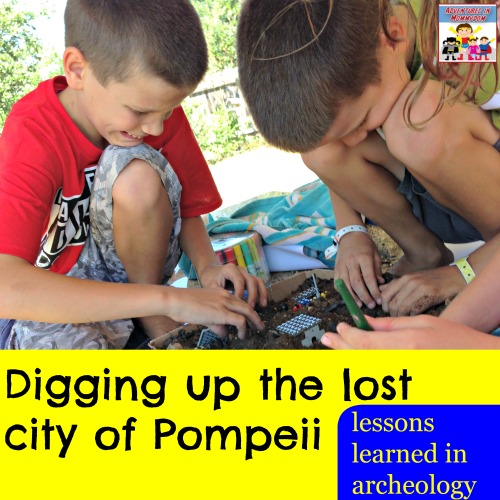 Hands on Pompeii lesson