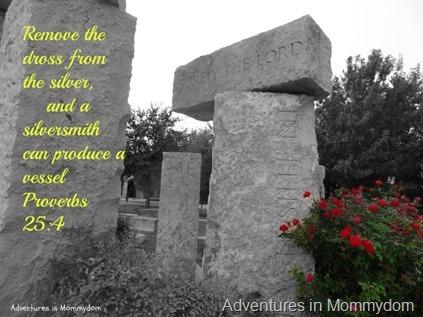 Proverbs 25 4
