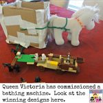 Can you design a bathing machine for Queen Victoria?