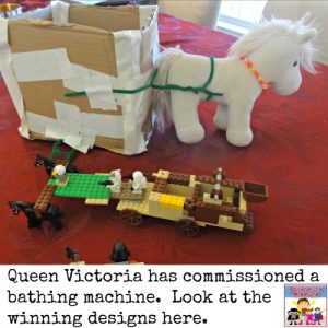 Queen Victoria bathing machine
