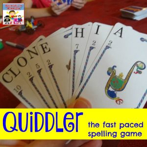 Quiddler the fun fast-paced spelling game
