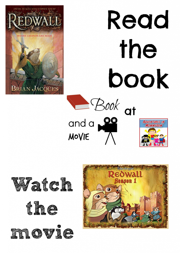 Redwall book and a movie