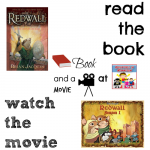 Redwall book and a movie feature 6th