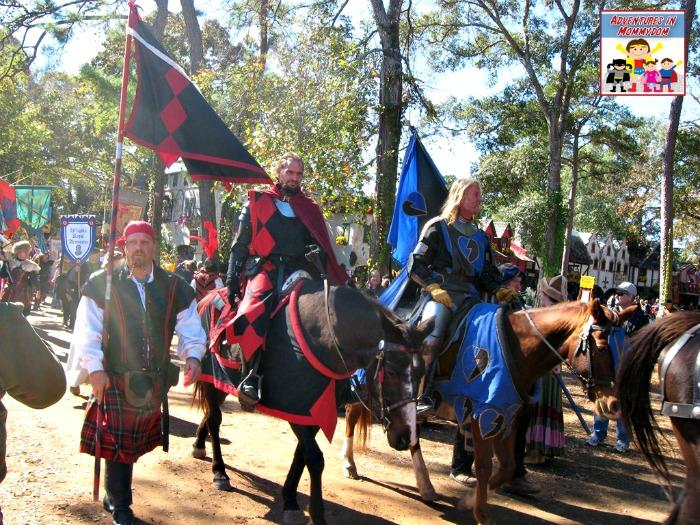 Renaissance Festival knights
