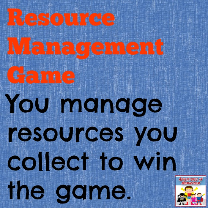 resource management game
