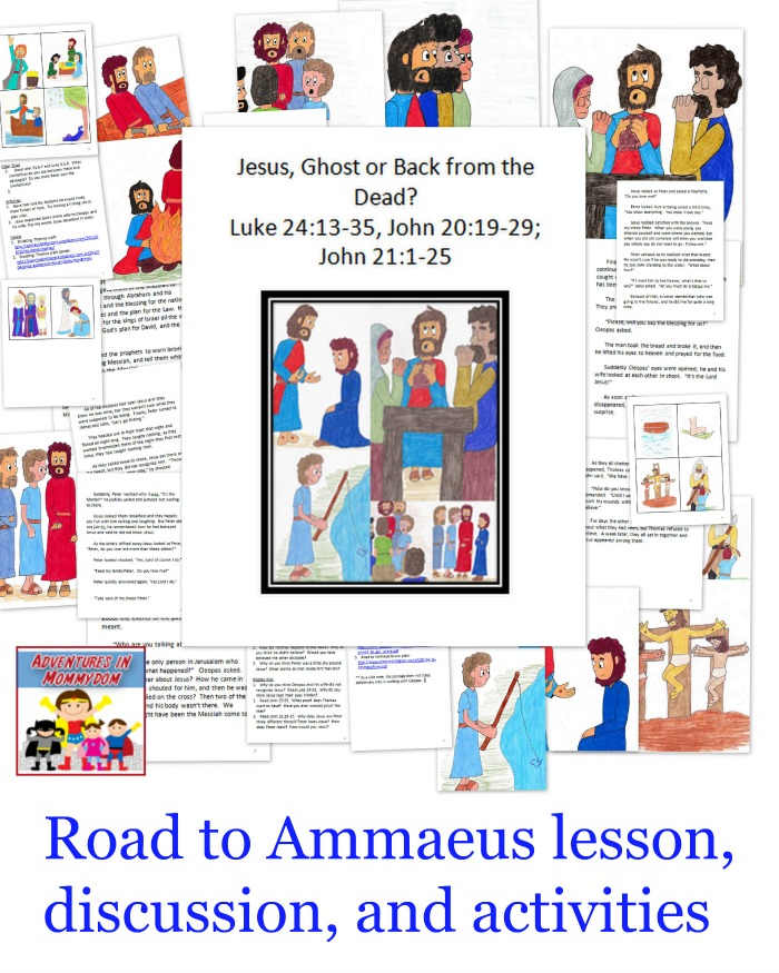 Road to Ammaeus lesson ideas