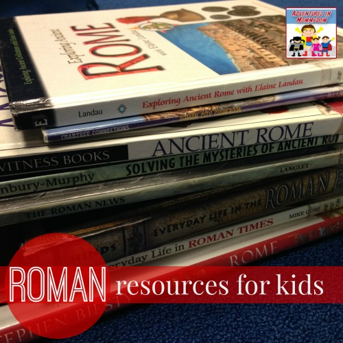 Roman history resources for kids