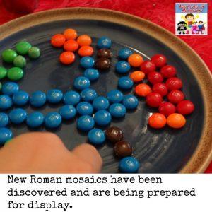 Roman mosaic craft