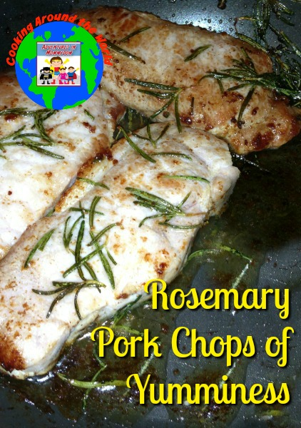 Rosemary pork chop recipe