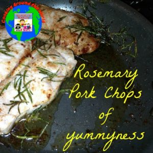 Rosemary pork chops of yummyness recipe