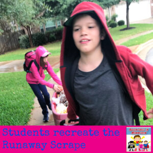 Runaway Scrape lesson Texas history Texas Revolution US history modern 7th