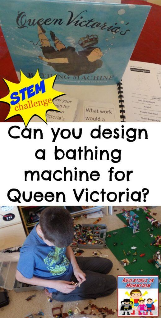 STEM challenge Queen Victoria's bathing machine