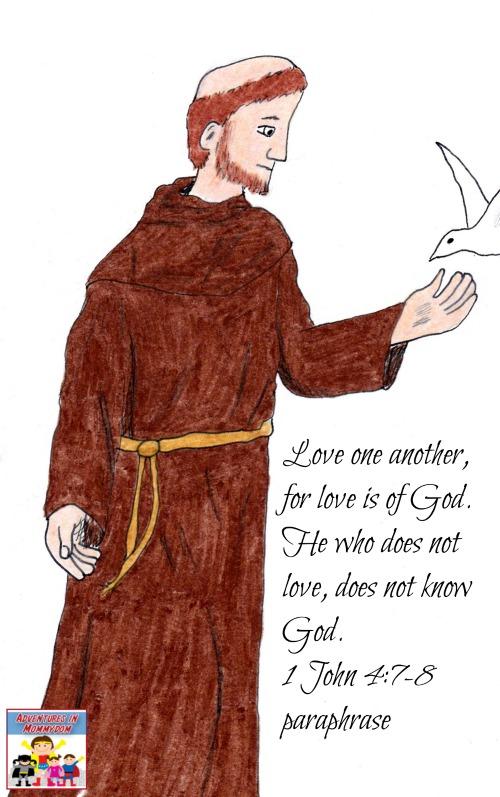 Saint Francis lesson