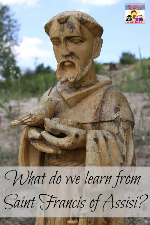 Saint Francis of Assisi lesson