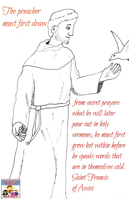 Saint Francis of Assisi quote