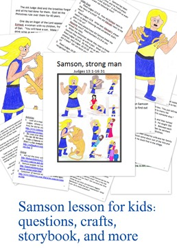 Samson lesson for kids