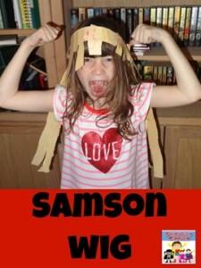 Samson activities for kids