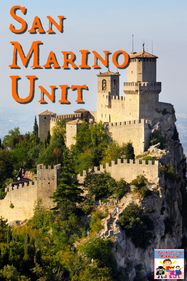 San Marino geography unit, explore this little known country tucked into the middle of Italy