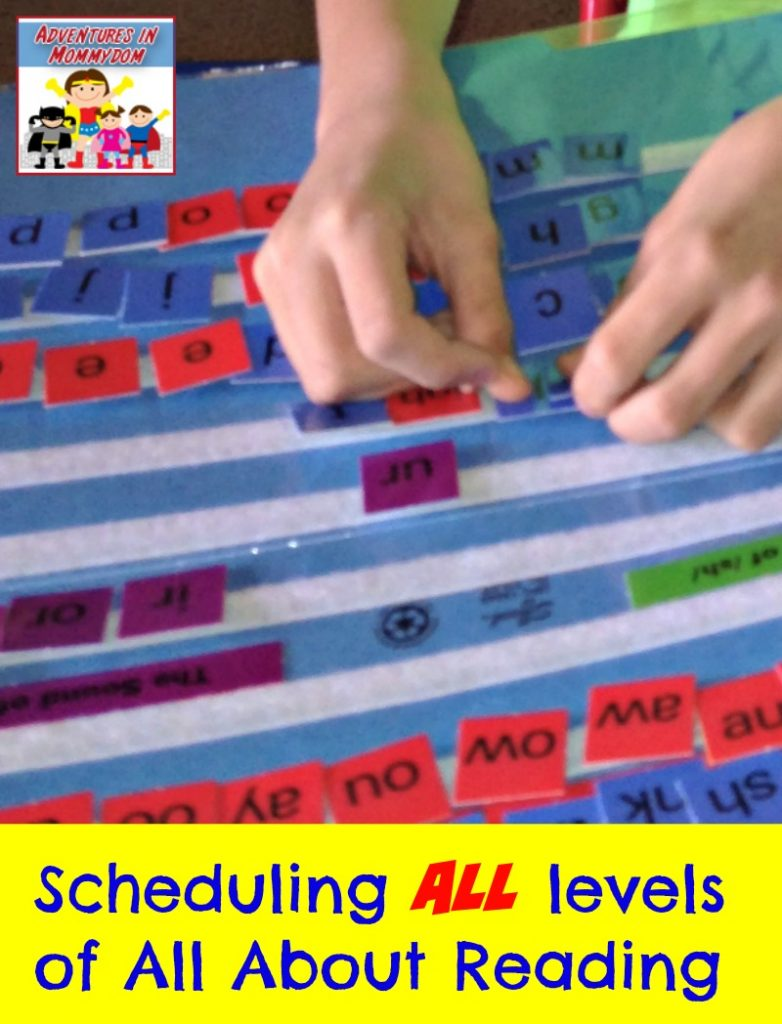 Scheduling All About Reading