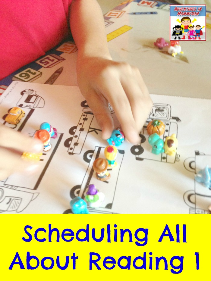 Scheduling all about reading level 1