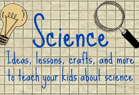 Science for kids pinterest board