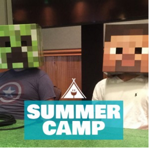 Tired of hearing about Minecraft?  Try Minecraft coding camp