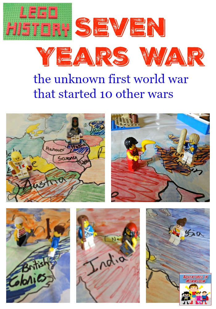 Seven years war history lesson