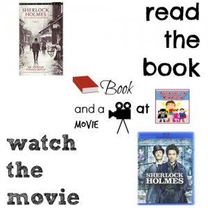 Sherlock Holmes book and a movie feature high 7th