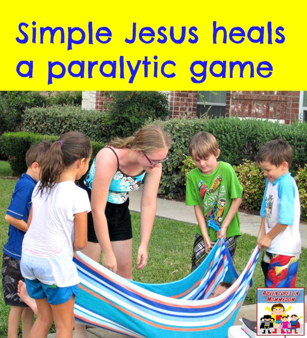 Simple Jesus heals a paralytic game