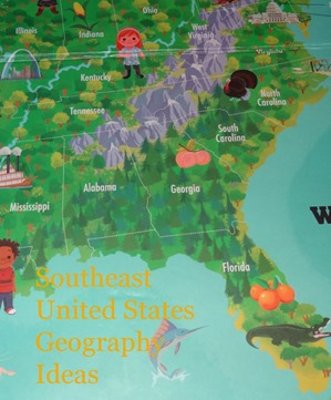 United States Geography Ideas - United states geography map