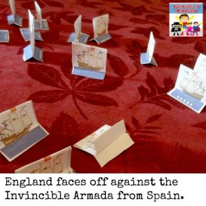 Try this interactive Spanish Armada lesson