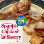 Spanish chicken in Sherry cooking around the world