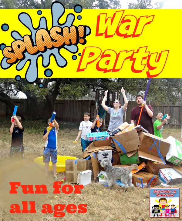 Splash War water party