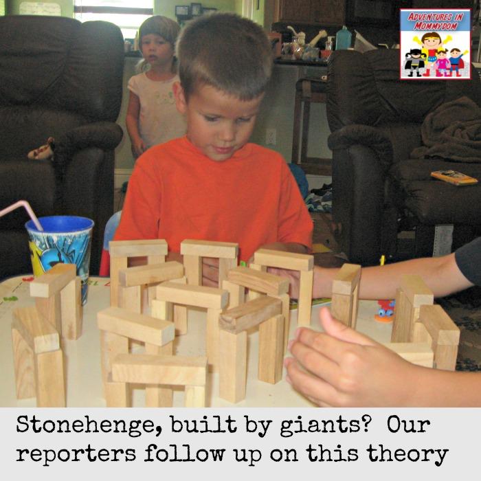 Stonehenge built by giants