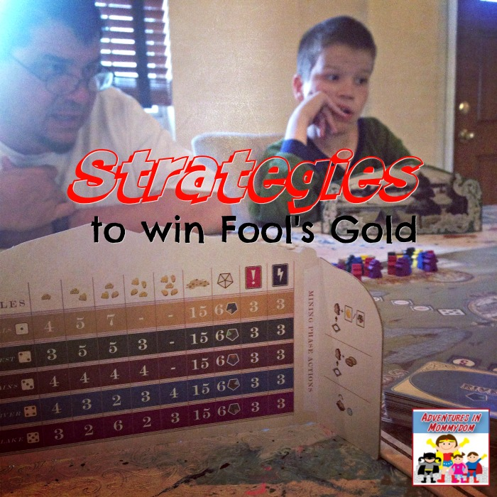 Strategies to win fool's gold the gold rush game