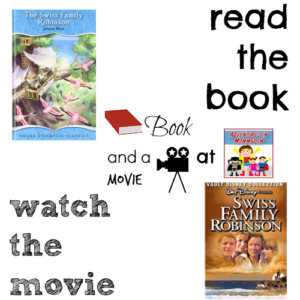 Swiss Family Robinson book and a movie feature 8th 7th